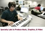 specialty labs to produce music graphics video