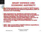 smart defence and economic austerity1