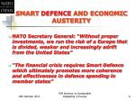 smart defence and economic austerity2