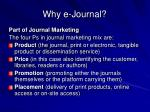 why e journal