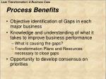 process benefits