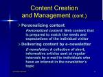 content creation and management cont42