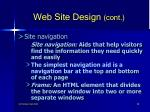 web site design cont58