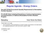 regular agenda energy orders1