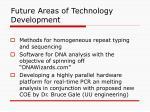 future areas of technology development