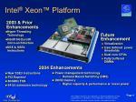 intel xeon platform