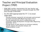 teacher and principal evaluation project tpep
