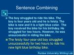 sentence combining1