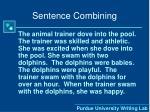 sentence combining2