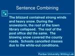 sentence combining4