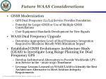 future waas considerations