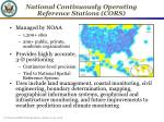 national continuously operating reference stations cors
