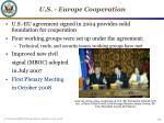 u s europe cooperation