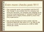 even more checks post 9111