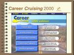 career cruising 2000