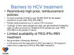 barriers to hcv treatment