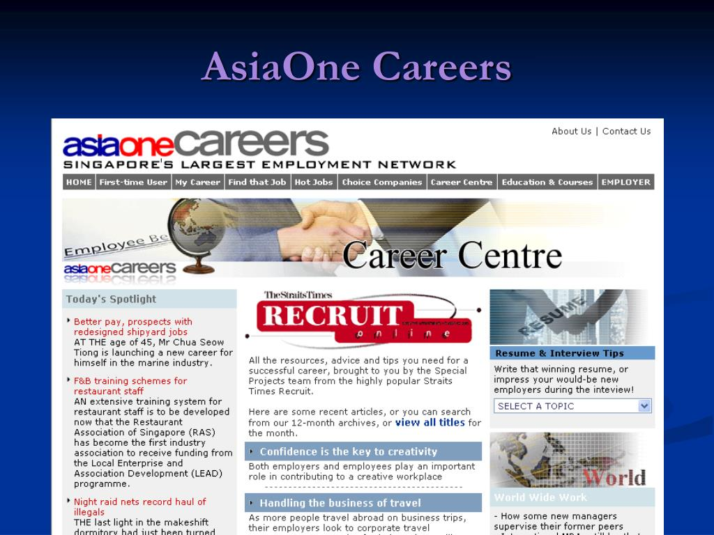 AsiaOne Careers