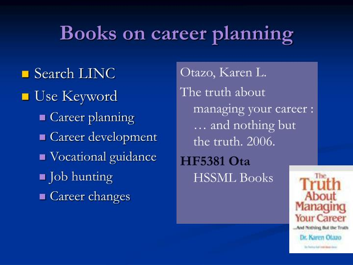 Books on career planning