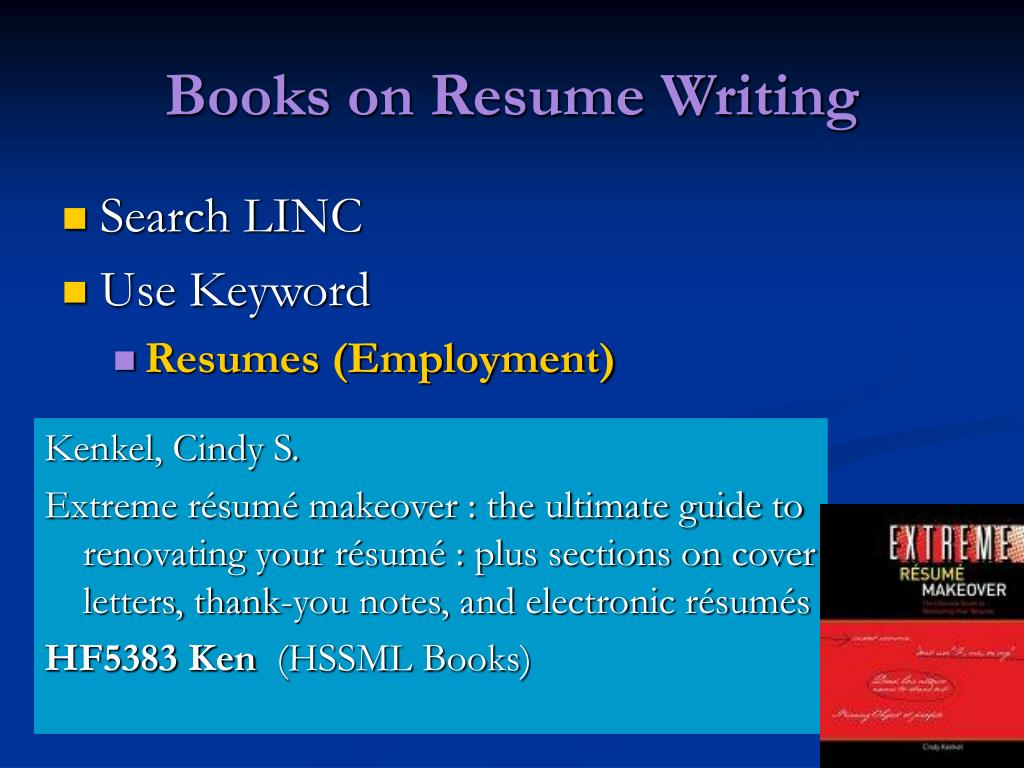 Books on Resume Writing