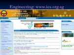 engineering www ies org sg