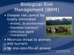 biological risk management brm1