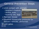 general prevention steps1