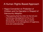 a human rights based approach2