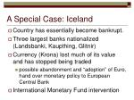 a special case iceland