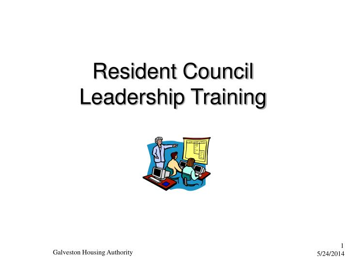 resident council leadership training n.