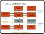 asic design flow
