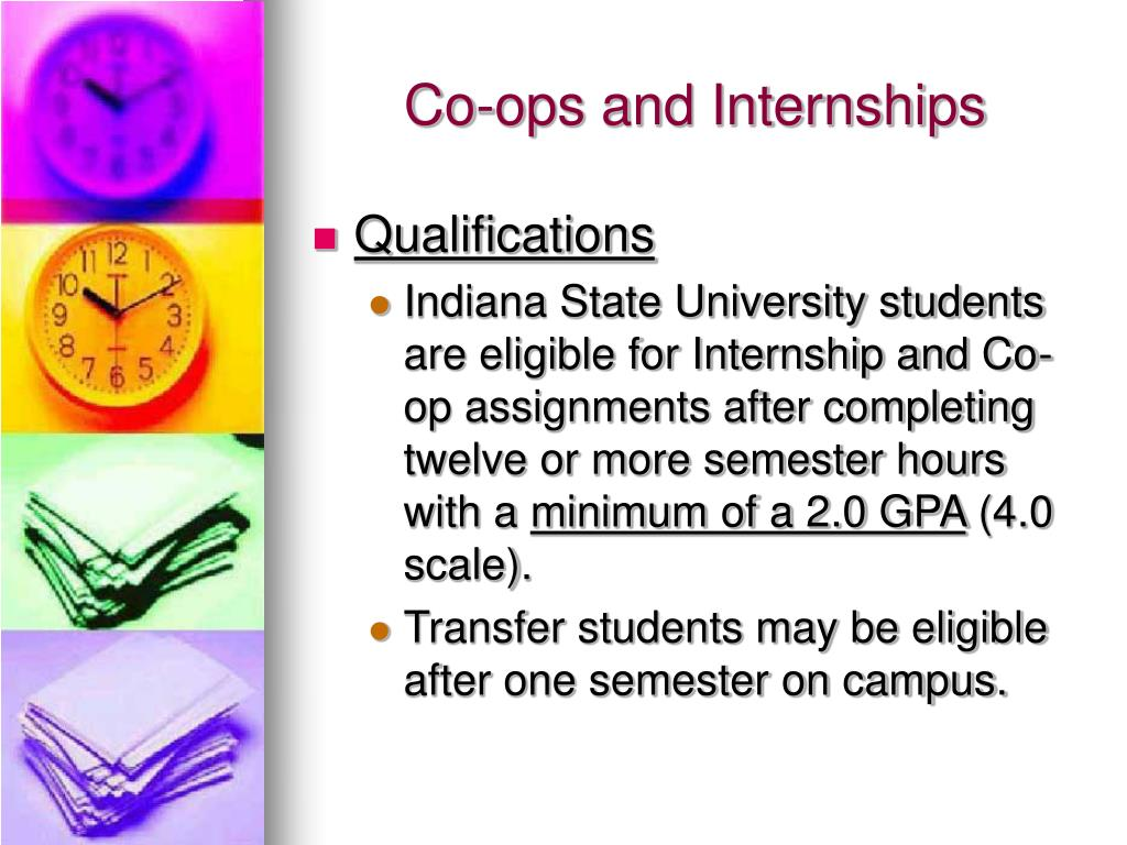 Co-ops and Internships