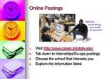 online postings