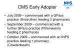 cms early adopter2