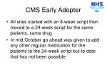 cms early adopter3