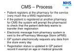 cms process