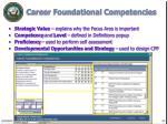 career foundational competencies22