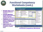 functional competency worksheets cont12