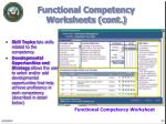functional competency worksheets cont13