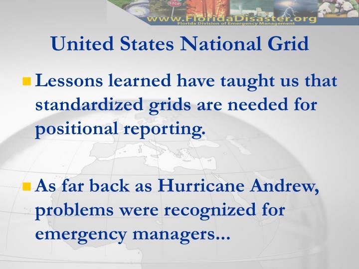 United states national grid