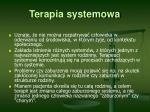 terapia systemowa