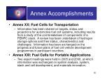annex accomplishments