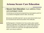 arizona secure care education3