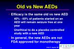 old vs new aeds