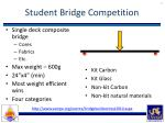 student bridge competition