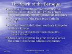 the spirit of the baroque