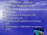 pathway option science technology engineering mathematics
