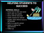 helping students to succeed2