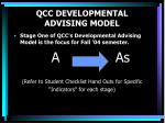 qcc developmental advising model5