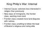 king philip s war internal