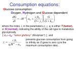 consumption equations